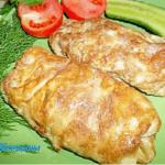Вкусные куриные котлеты в»конвертах»- блюдо на праздничный стол