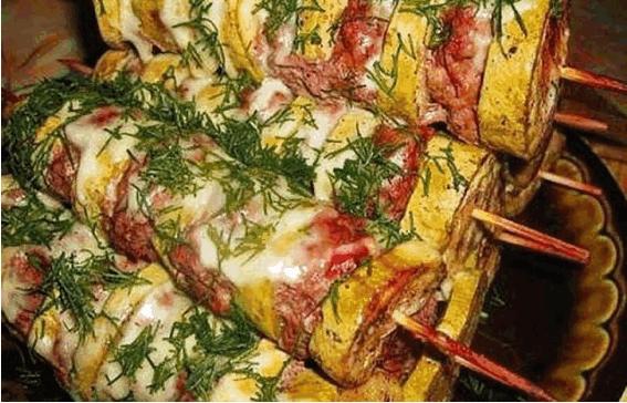 рецепт кабачков с фаршем
