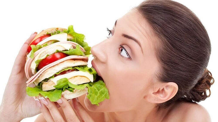 тест на переедание