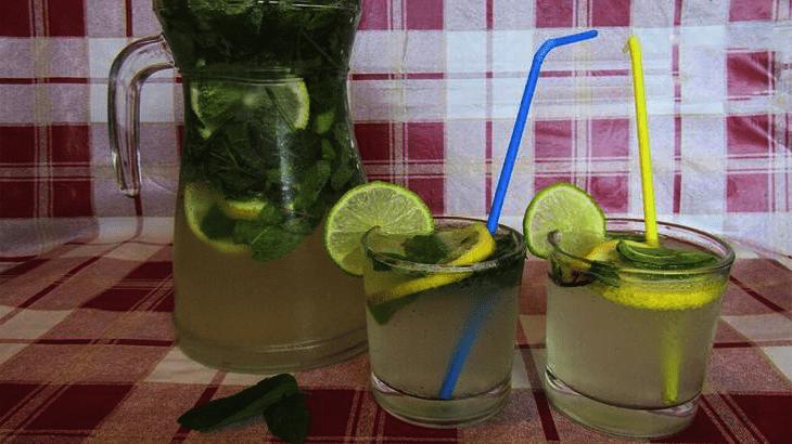 напитки для похудения лимонад