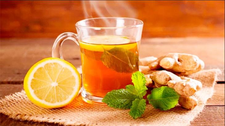 чай с имбирём