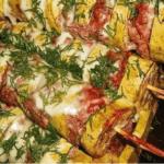 Рецепт кабачков с фаршем»Кабачки-кабанчики»